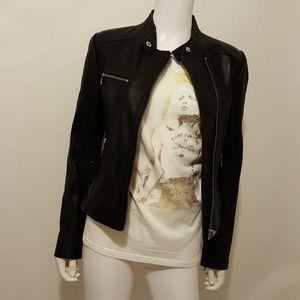 Andrew Marc Moto Leather Jacket